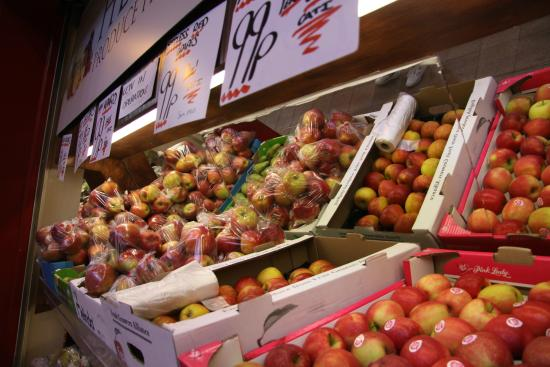 Fruit and veg  Picture of Grainger Market Newcastle upon Tyne