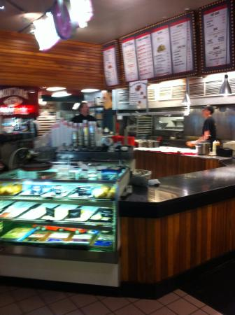 Counter area of Fuddruckers of Missoula MT