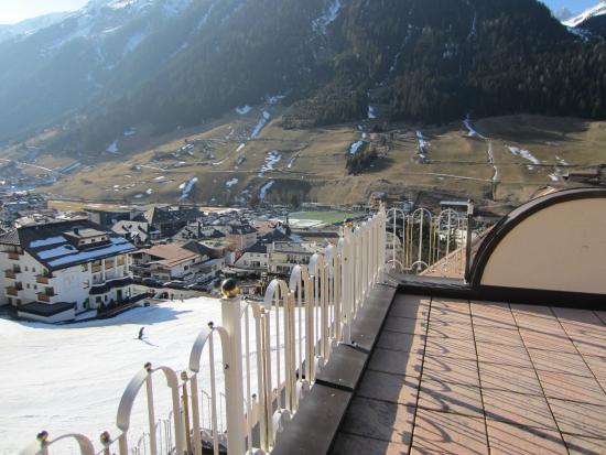 Hotel Brigitte : Terrace