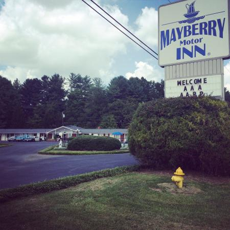 ‪‪Mayberry Motor Inn‬: Welcome to the Mayberry Inn!‬