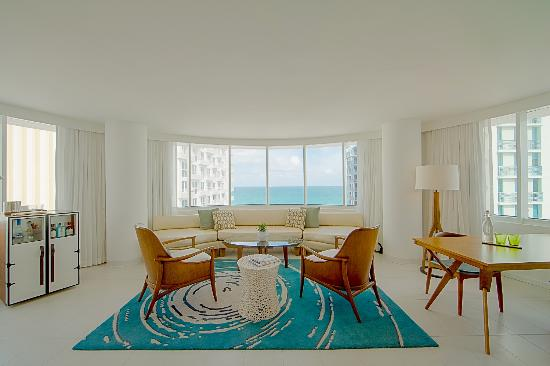 Royal Palm South Beach Miami A Tribute Portfolio Resort Suite Living Room