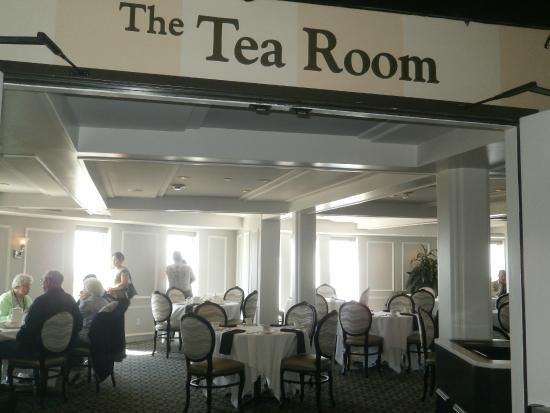 Tea Room Next To The Princess Diana