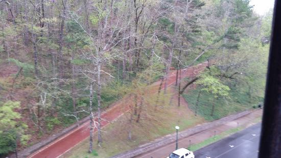 Park Hotel of Hot Springs: View from our room