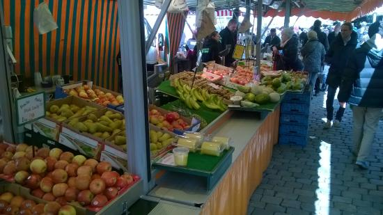 Wochenmarkt Muenster: Great and fresh produce everywhere