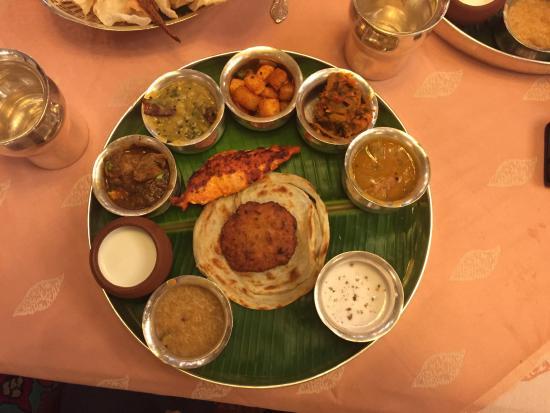 Dakshin South Indian Non Veg Thali