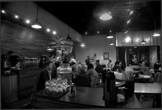 Bold Bean Coffee Roasters: Music Night at Bold Bean back in Jan. 2015