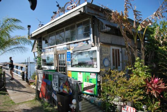 Low-Key Hideaway: Tiki bar