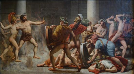 How can I relate Odysseus's revenge from Homer's The Odyssey to a situation in real life?