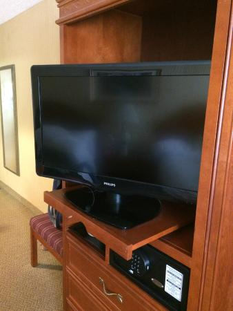 Holiday Inn Middletown: like the TV set