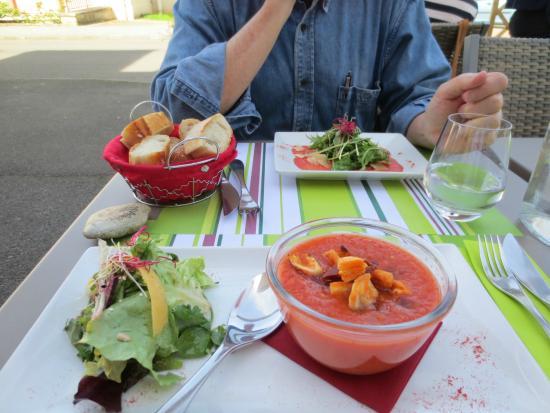 Restaurant Le Vauquelin : Gazpacho