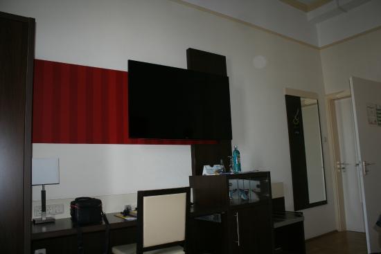 SternHotel Bonn : flatscreentv