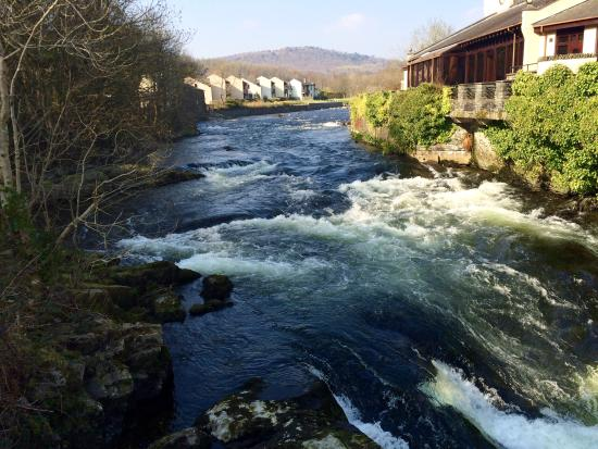 Whitewater Hotel & Leisure Club: View from bridge