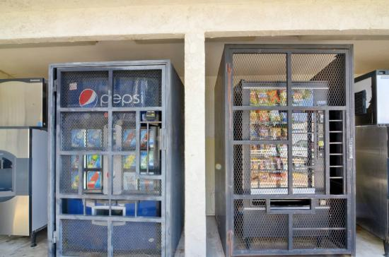 North Palm Springs, Californië: Vending