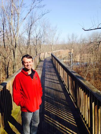 Sarett Nature Center: On the scenic overlook.