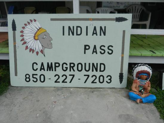 Indian Pass Campground : Campground area