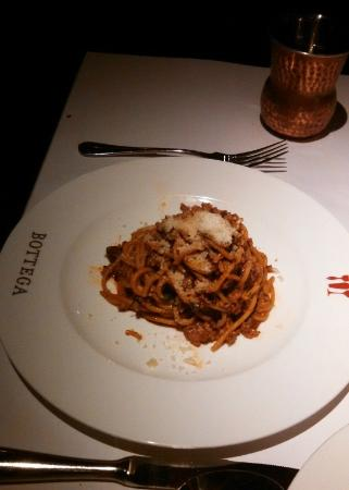 The veal bolognese- my husband really enjoyed it!