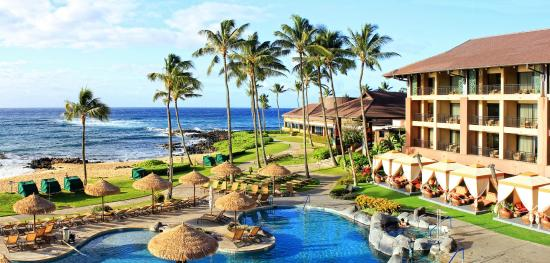Sheraton Kauai Resort The Morning View From Our Lanai
