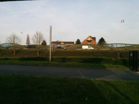 HotelF1 Lille Villeneuve d'Ascq : view of motorway