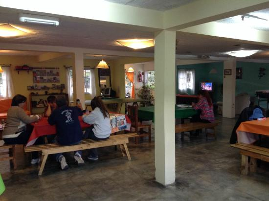 Hostel Ladera Norte: areas comunes