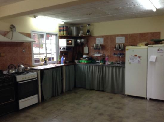 Hostel Ladera Norte: cocina