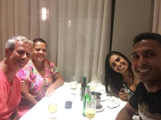 Camaroes Potiguar: Jantar com amigos