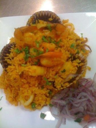 Alpamayo Restaurant : Arroz con mariscos