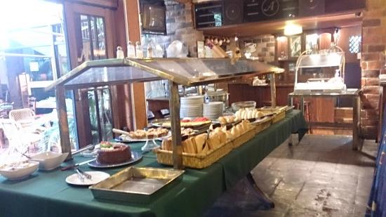 Hotel Ariosto : café da manhã
