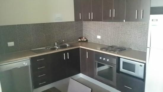 Centrepoint Apartments Griffith: Kitchen