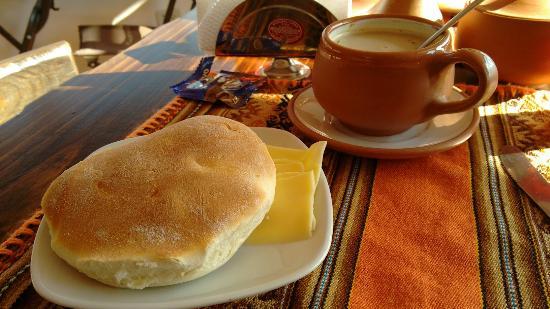 Casa Hospedaje Hatun Quilla : Café