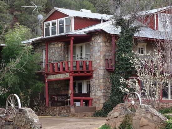 The Black Range Lodge: The historic Black Range Lodge has hosted visitors since the 1880s.