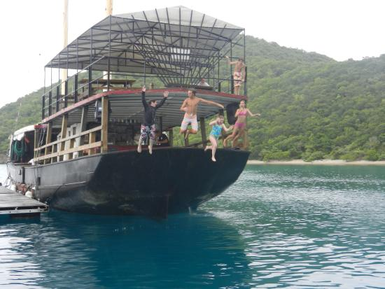 """Virgin Islands Boat Rental: Willy """"T's"""" with C. Don"""