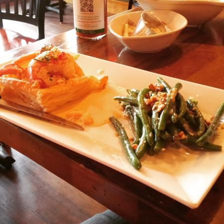my lobster new burge!! - Picture of The Lobster Trap, Asheville - TripAdvisor