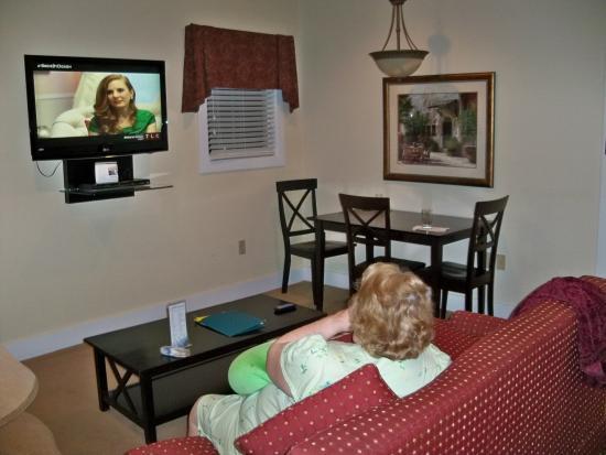 King's Creek Plantation Resort: Living Room
