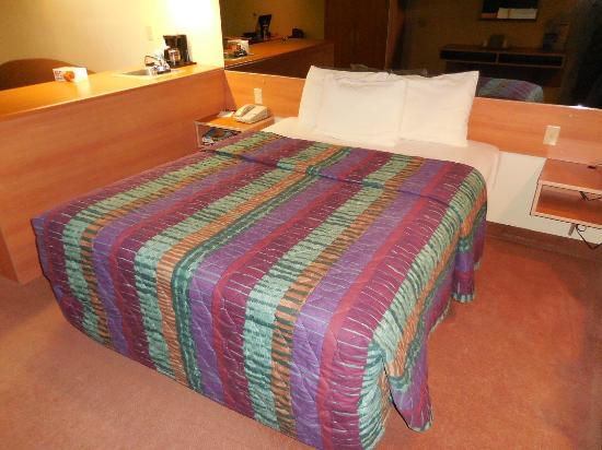 Western Skies Inn and Suites Los Lunas: Bed