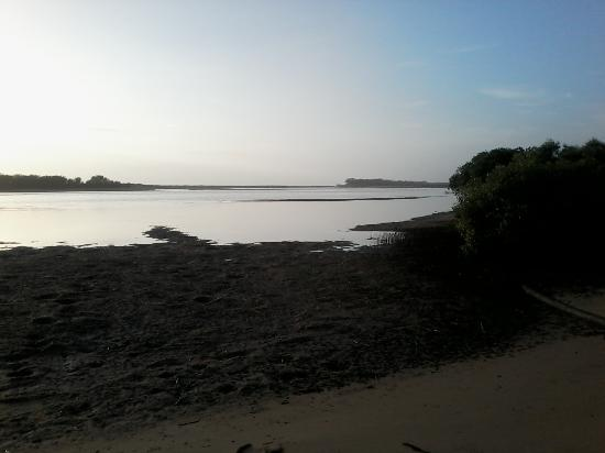 Deepwater, Avustralya: Early morning looking towards mouth.