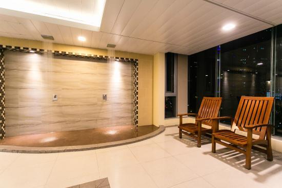Temperature Controlled Indoor Pool Picture Of The Linden Suites Pasig Tripadvisor
