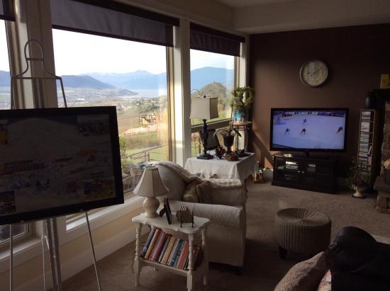 Turtle Mountain Inn : What a view
