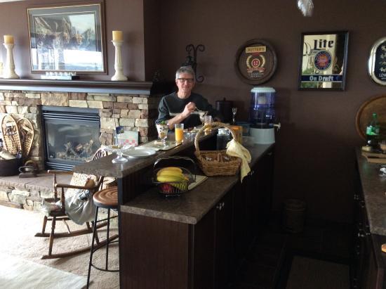 Turtle Mountain Inn: Scrumptious eats