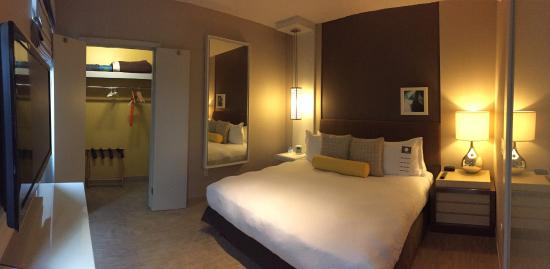 Sunset Suite Bedroom Picture Of Kimpton Hotel Wilshire Los