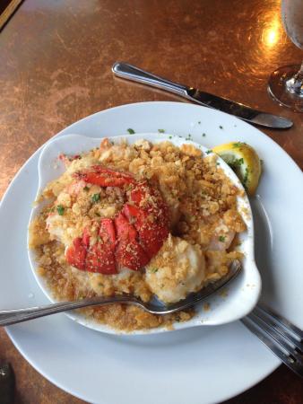 Passports Restaurant: Seafood casserole