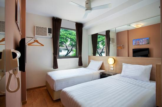 Red Planet Pattaya: Twin Room