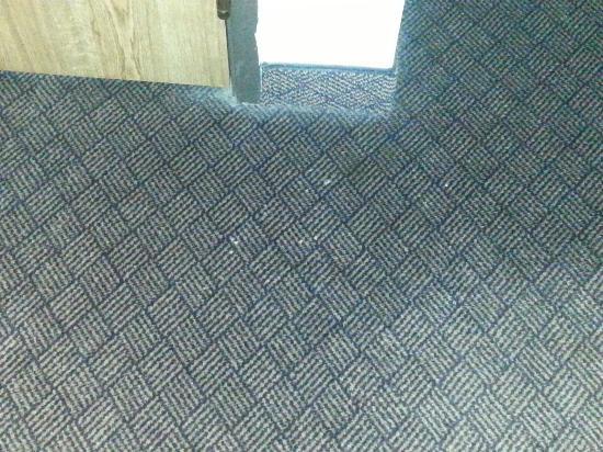 BEST WESTERN PLUS Landmark Inn: Dirty floors