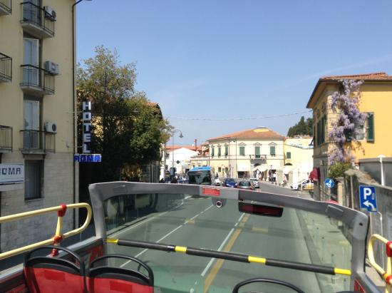 City Sightseeing Pisa : From the bus - time to get off if you want to see the tower!