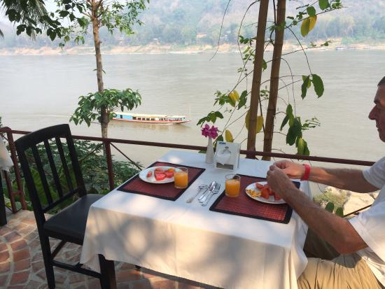 Sala Prabang Hotel : Only good point was breakfast biew