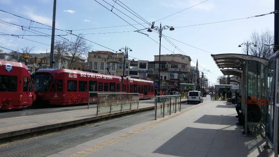 Beyazit Tram Station