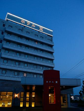 Hotel Gen Hamamatsu Inter: 外観(夜)exterior (night time)