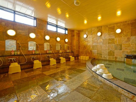 Hotel Gen Hamamatsu Inter: 大浴場 common bath