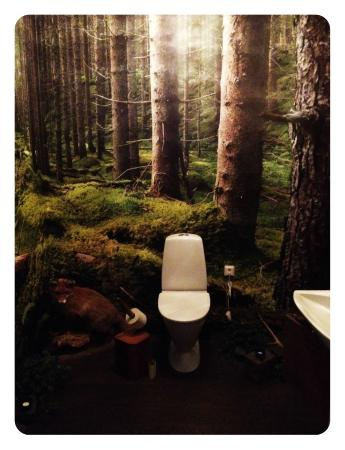 Saiko: The spectacular restroom.