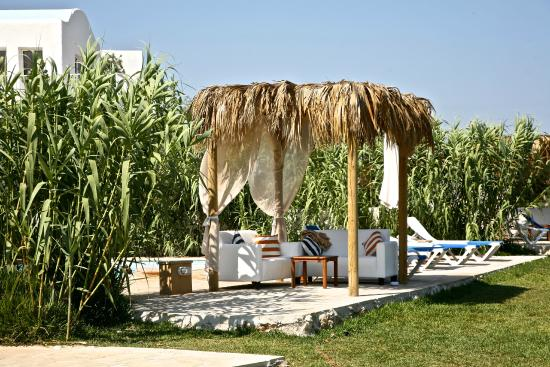 Thalassines Beach Villas: Villa Gazebos