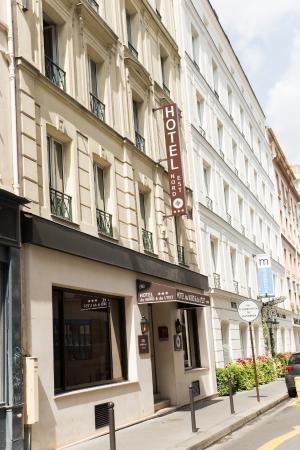 Hotel du Nord et de l'Est : Hotel HNE *** Malte Street Paris